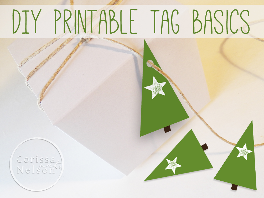 Printable Christmas Tree Tags