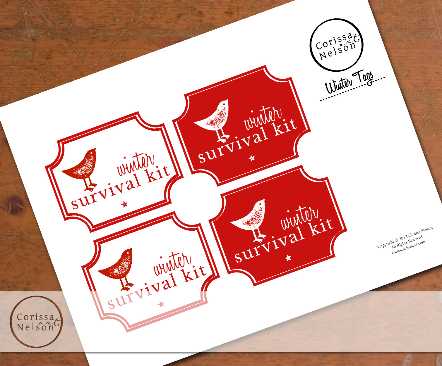 Freebie Tag Download