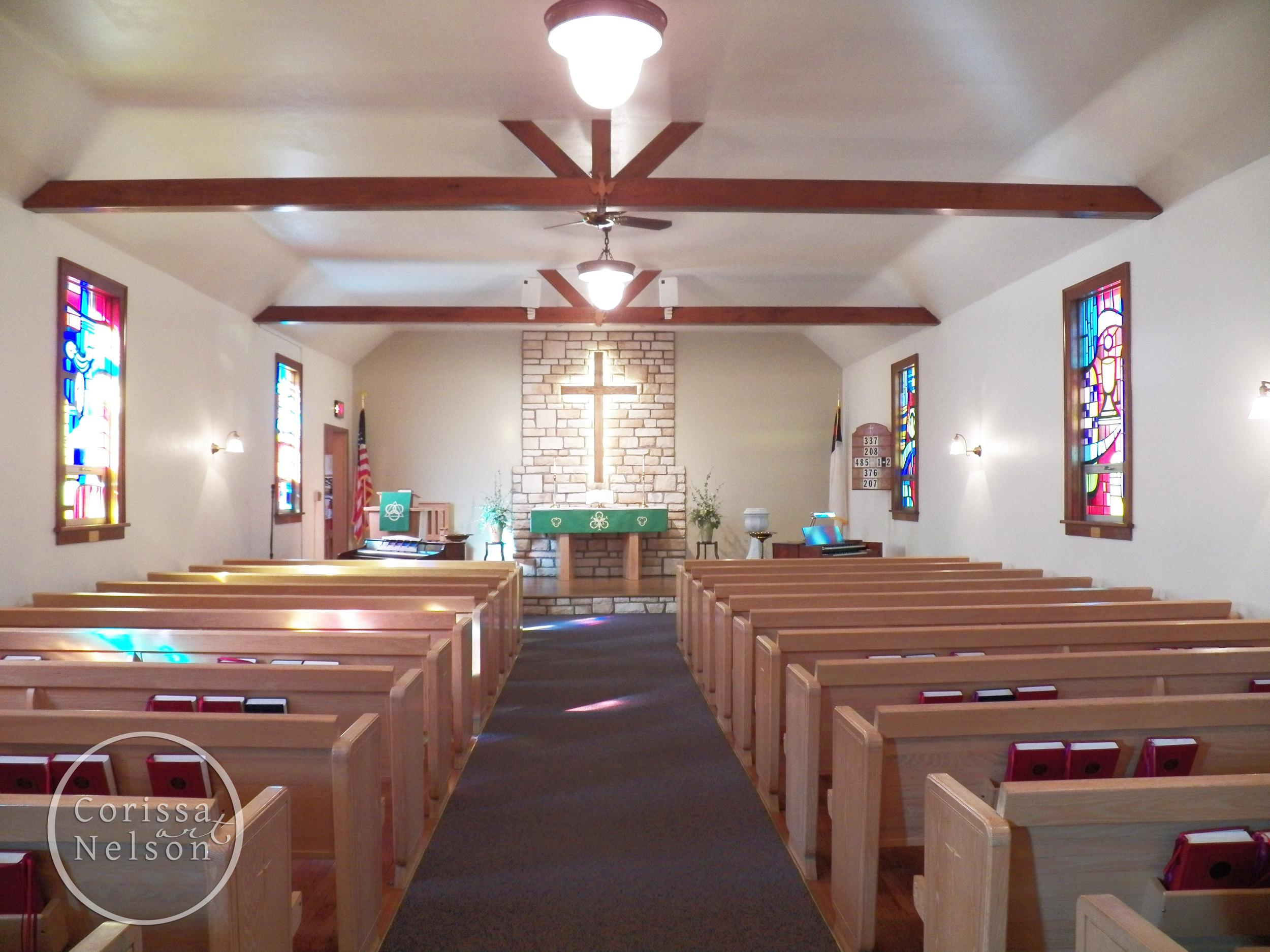 After sanctuary remodel