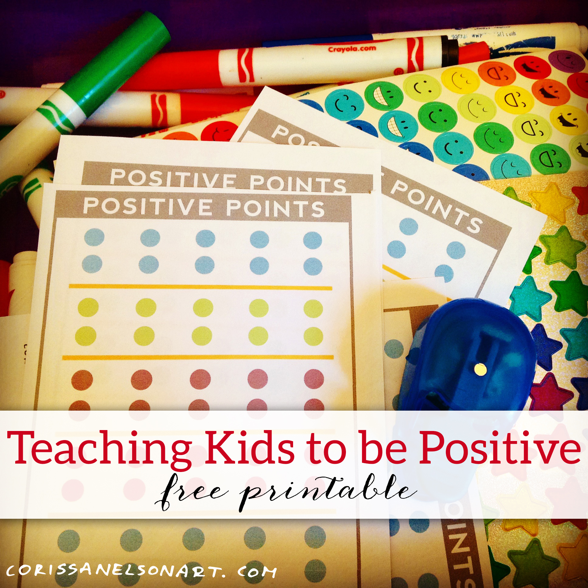 Download the   free positive points printable here.