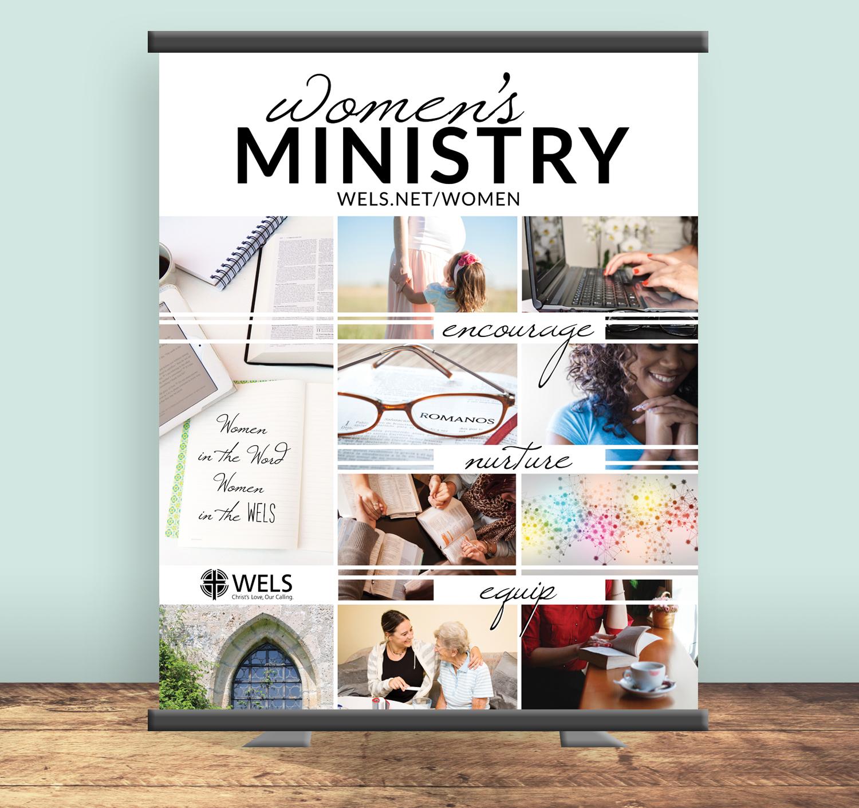WELS Women's Ministry Committee Banner Design