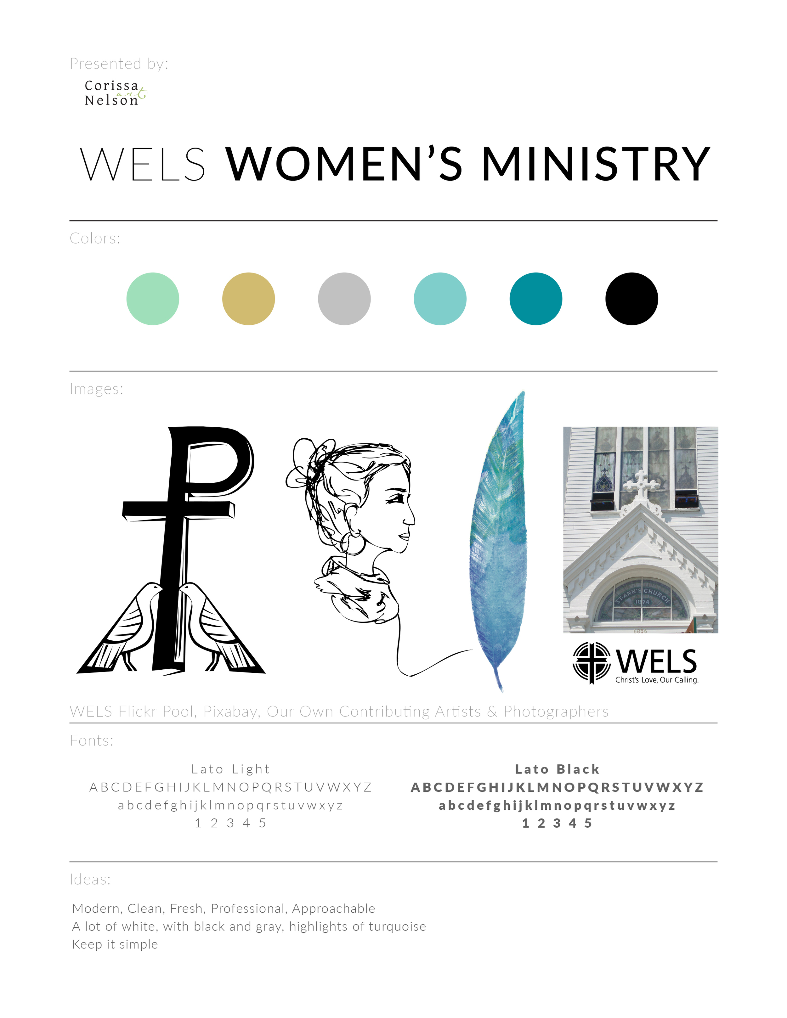 WELS Women's Ministry Committee Preliminary Branding Concepts