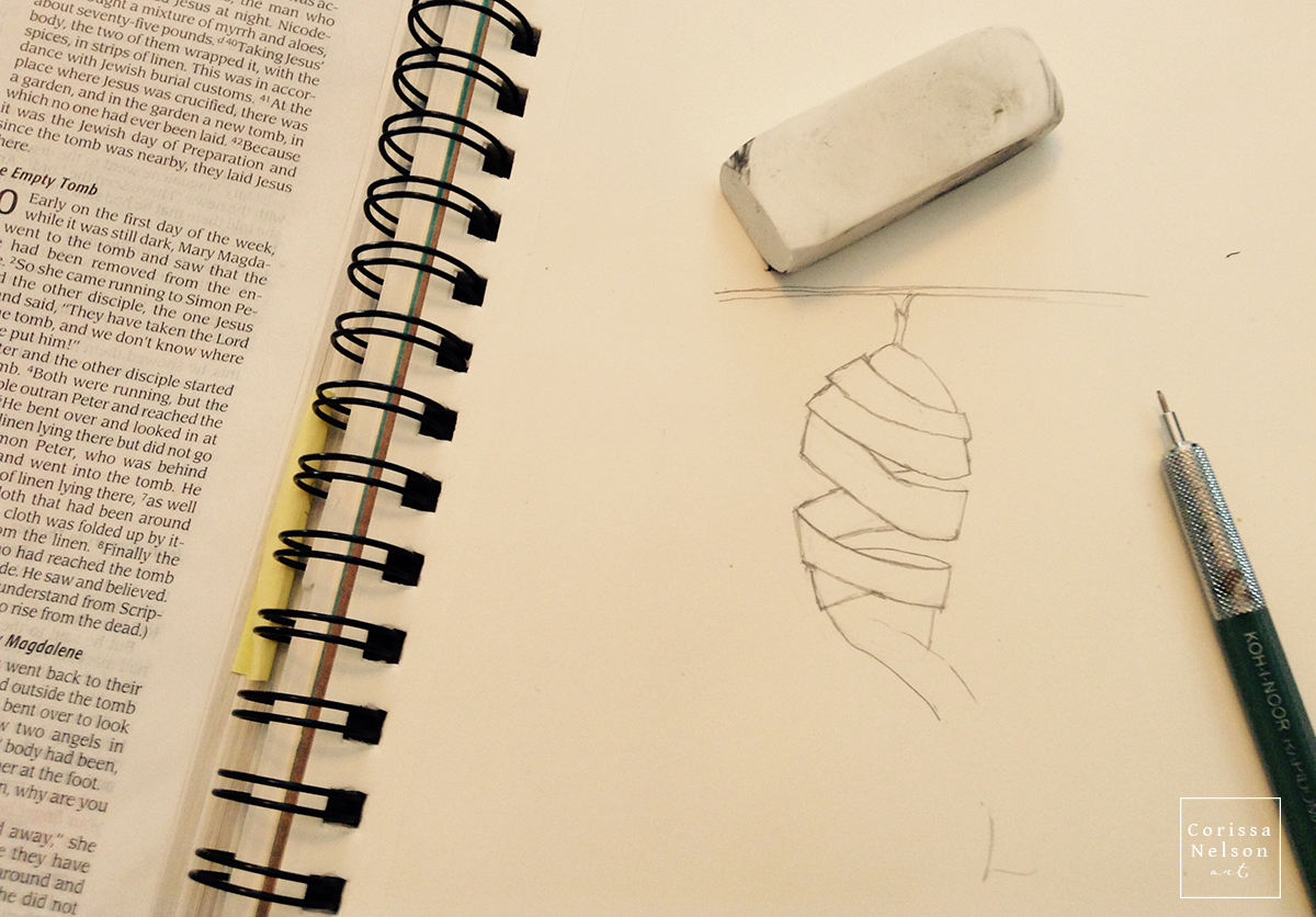 cocoon sketchbook