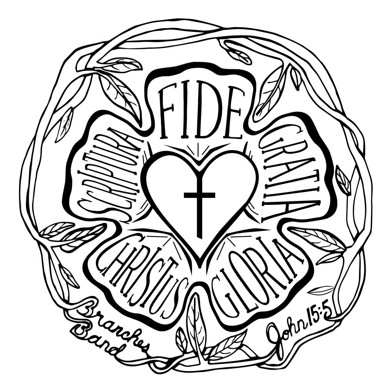 Branches Band Seal Design