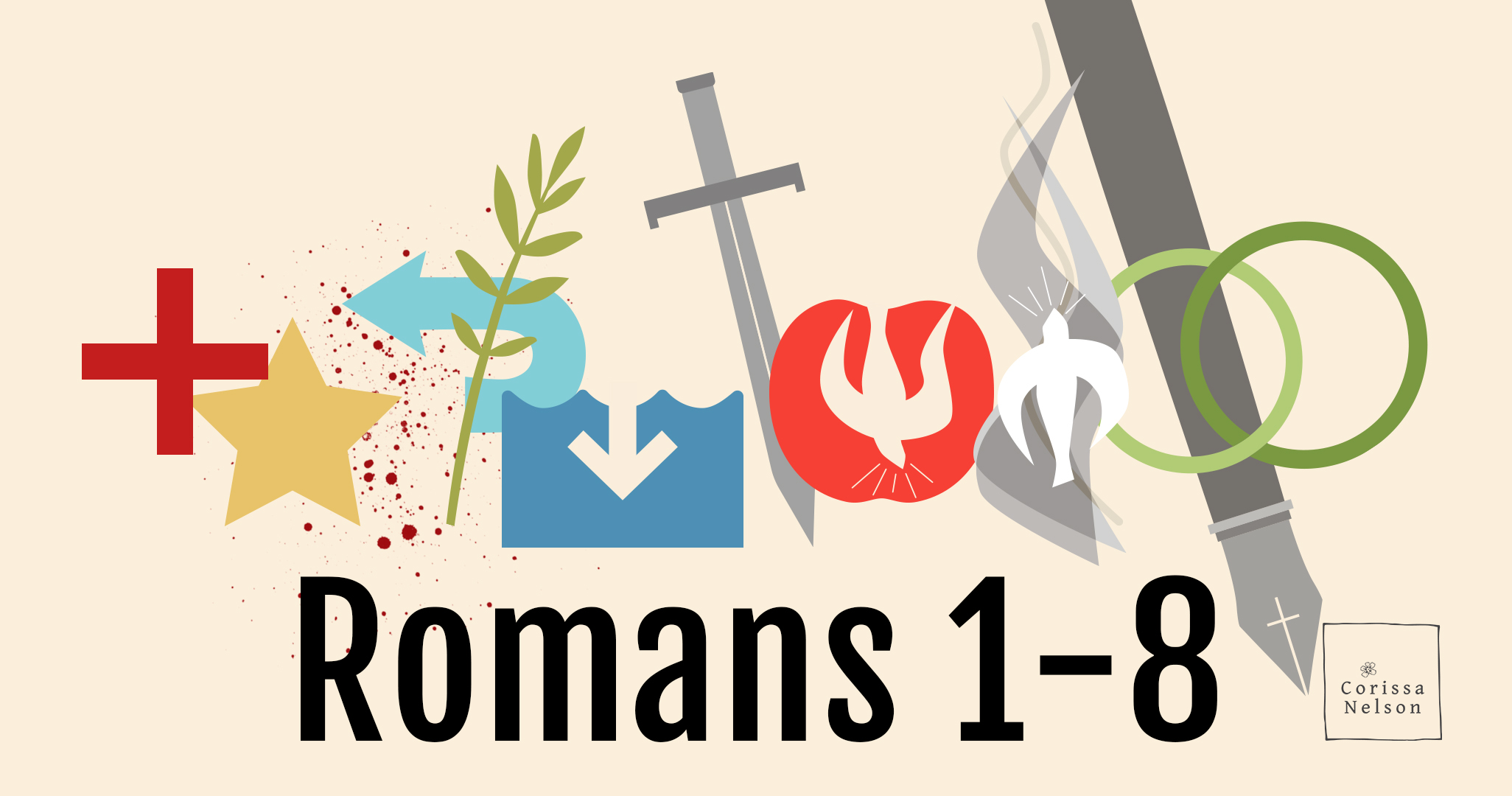 Romans for Pentecost/Summer Year A ( Be Sure to Catch the Coordinating Blog Posts on Bread for Beggars )