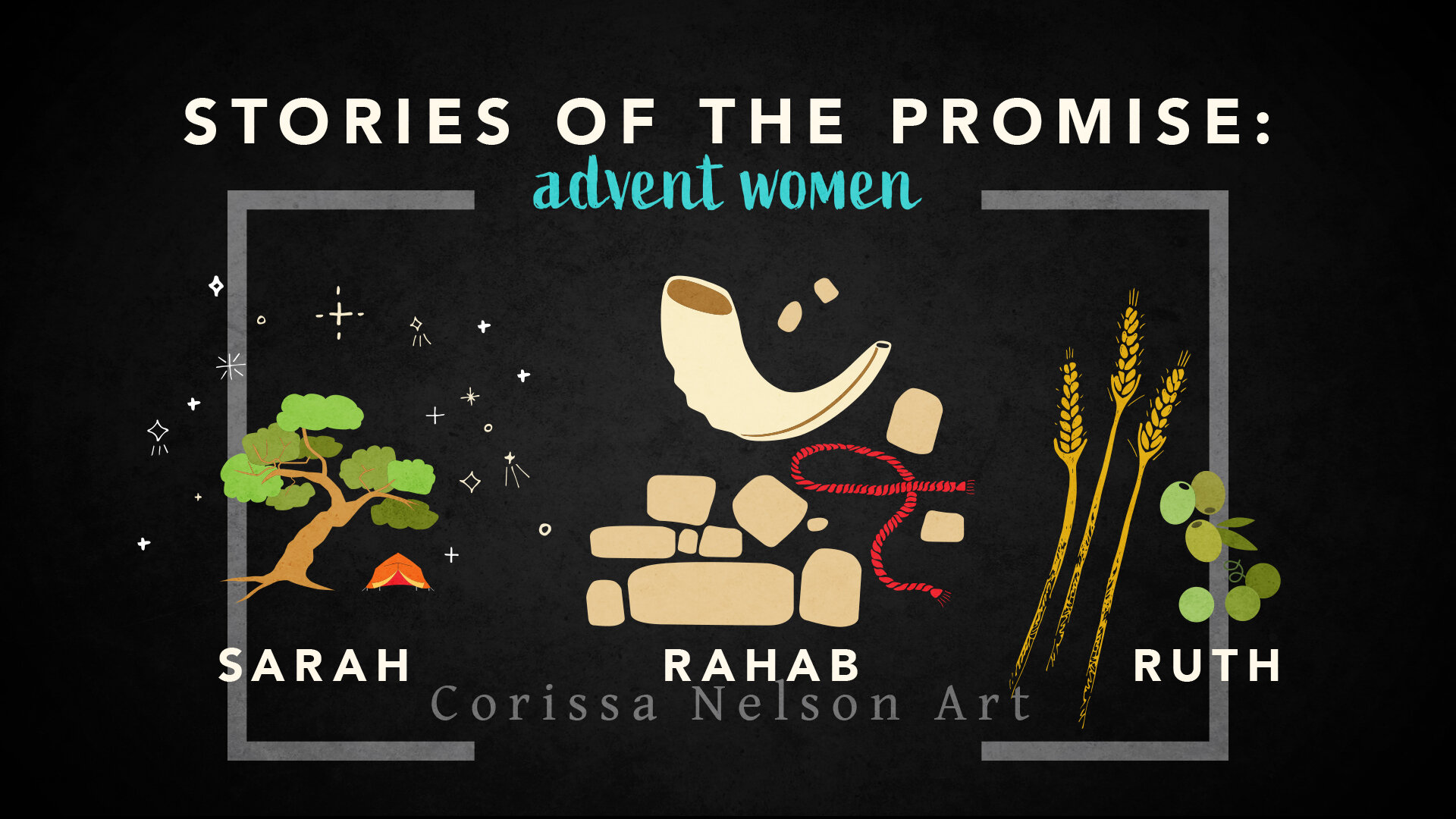 NEW! Advent Midweek Series, Non-liturgical, but compatible with Year A Advent Series, Stories of the Promise