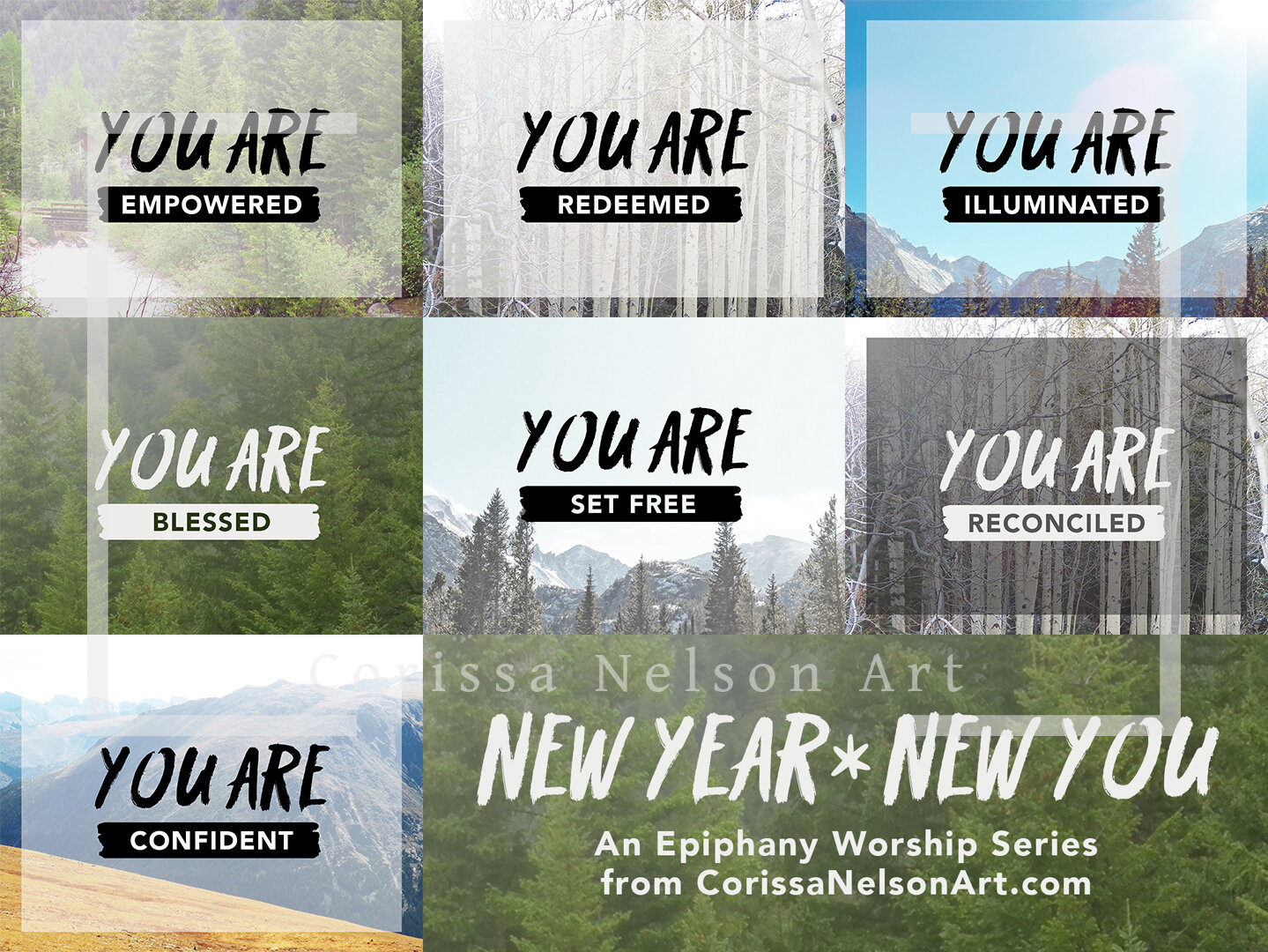 New! A series for Epiphany through Transfiguration