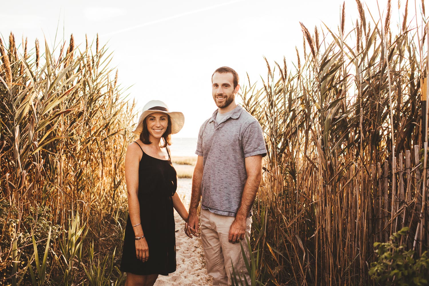 Cape Cod Beach Engagement Session