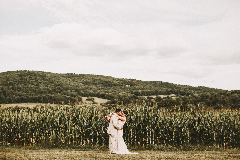 Romantic Vermont Wedding Photographers