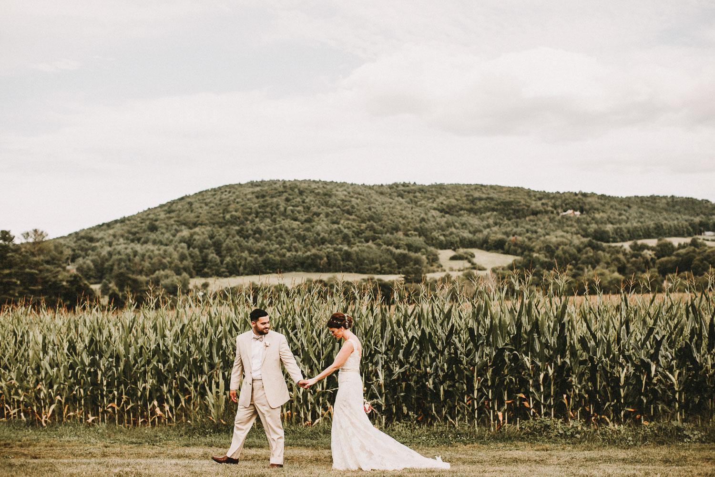 Cornfield Wedding Photos