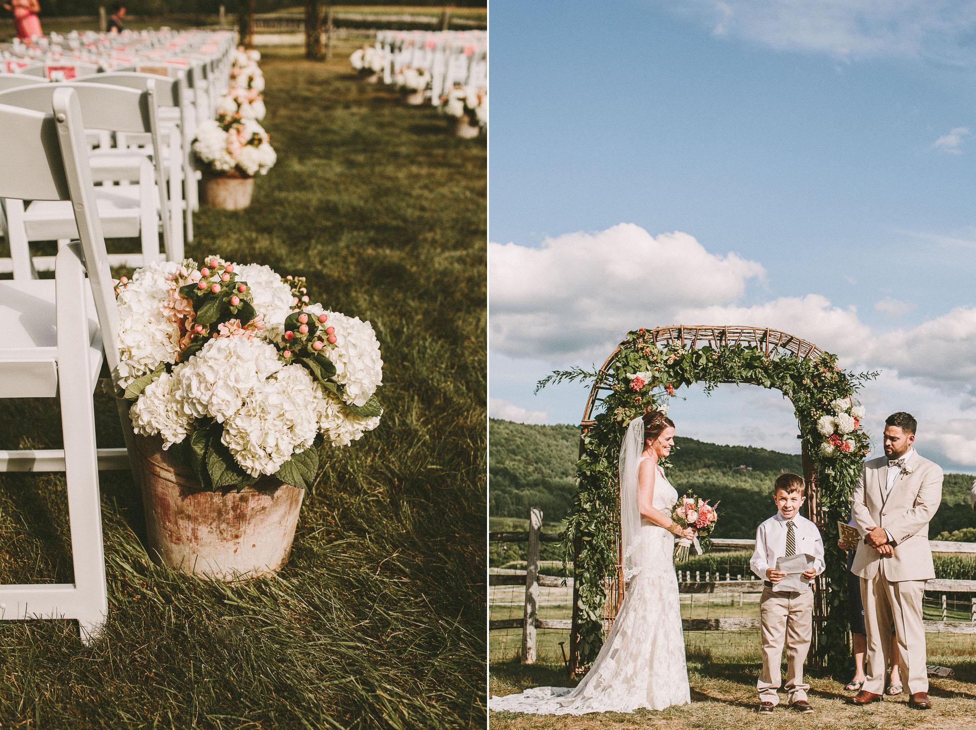 Artistic Vermont Wedding Photographers