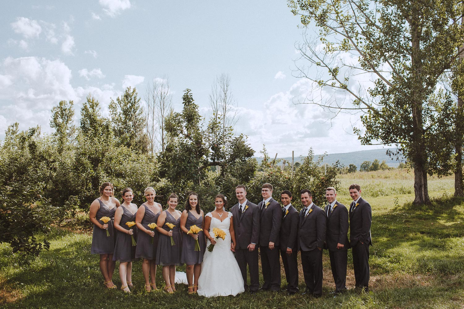 Alyson's Orchard Wedding Photography | Madly Photo