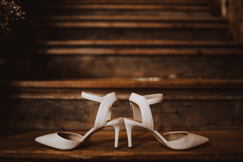 shoe details at bishop farm