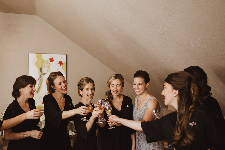 Champagne Toast New England Wedding