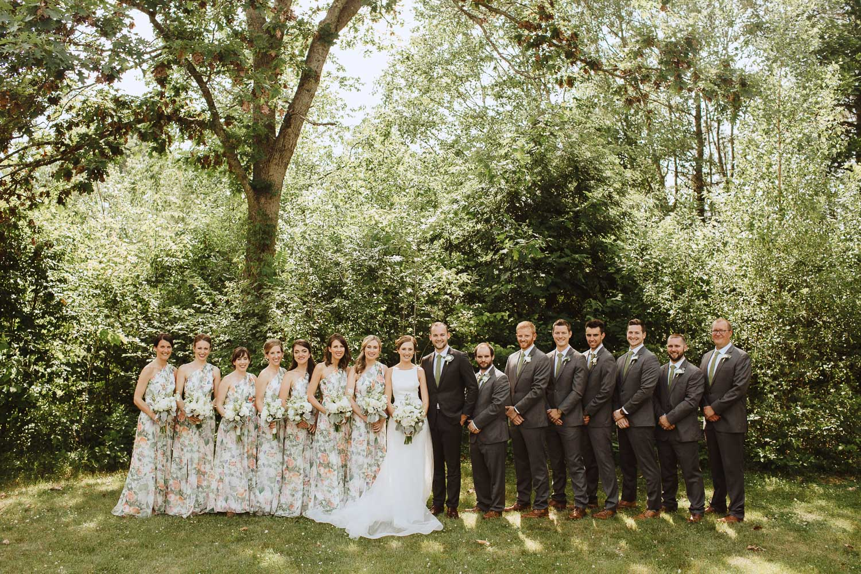 Wedding Portraits at Bishop Farm in Libson NH