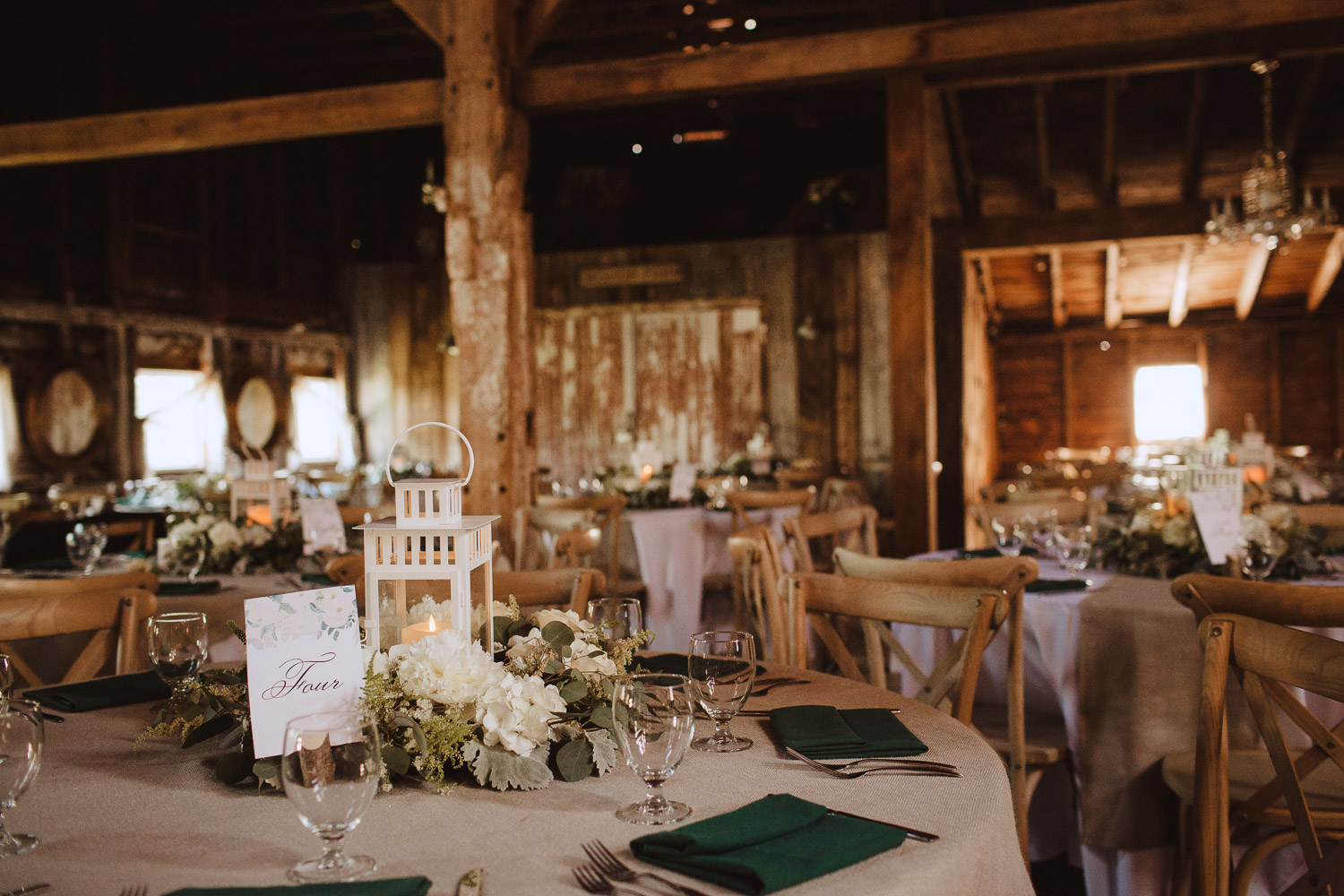 Romantic Barn Wedding in New Hampshire Photography