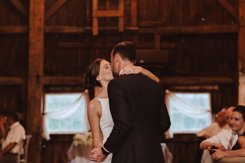 Romantic Barn Wedding in New Hampshire Photography