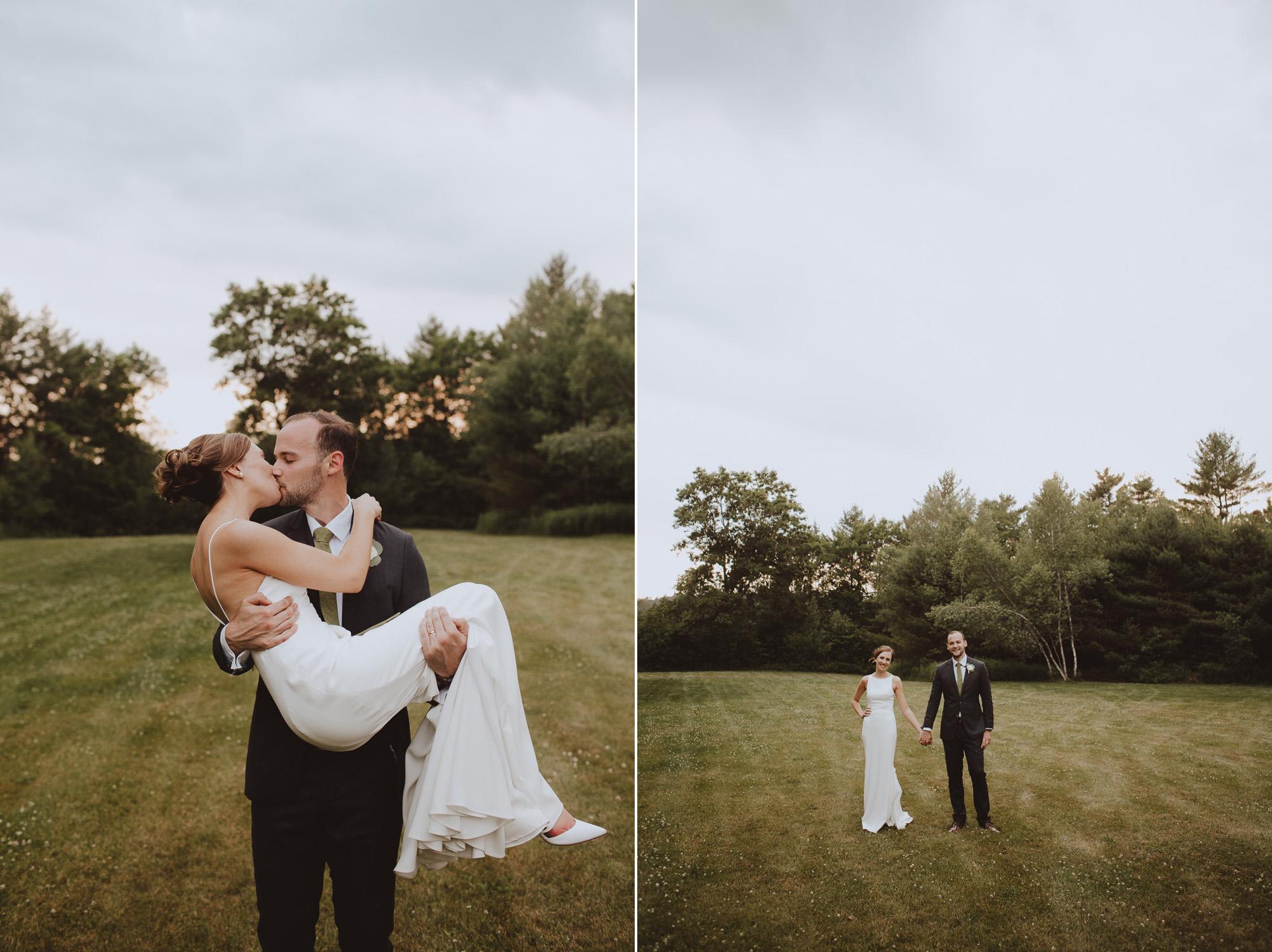 Artistic New Hampshire Wedding Photographer
