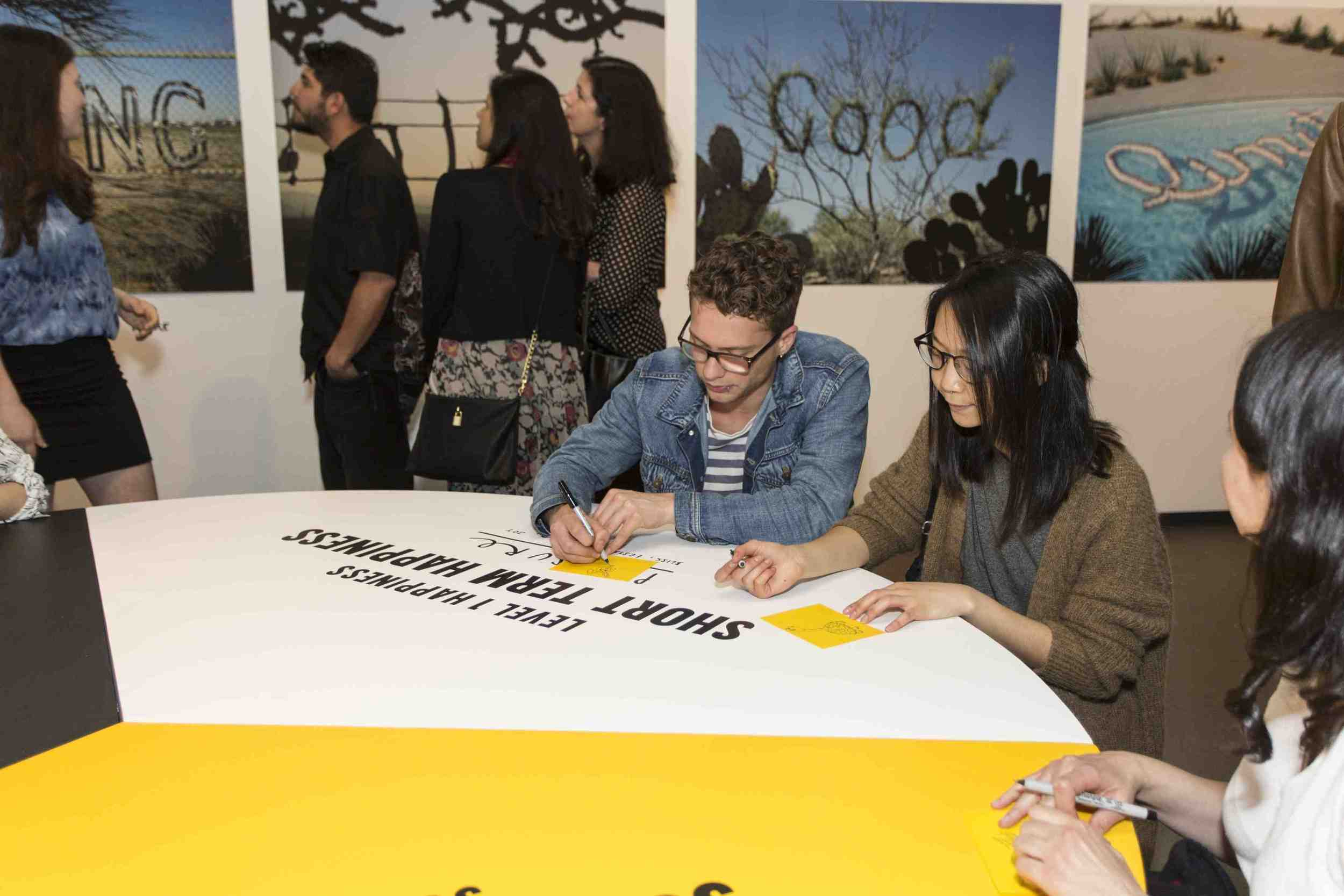 STEFAN SAGMEISTER:    THE HAPPY SHOW (2015)