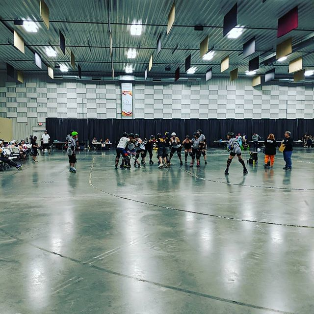 Brawl is off to a great start! Derby all day!