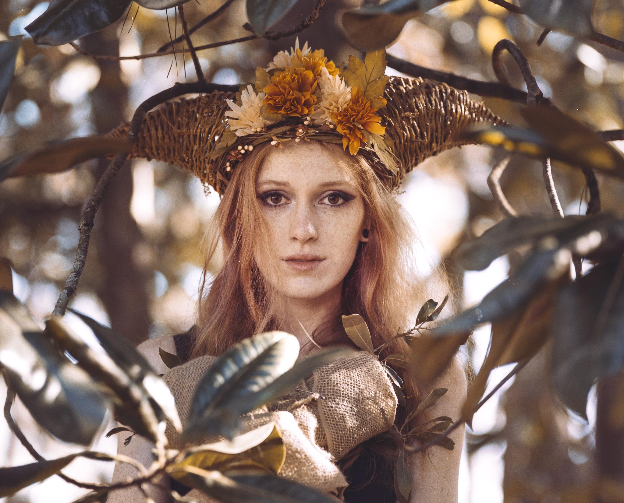 Model: Meagan Hamilton  Camera: Mamiya RB67  Film: Portra 400