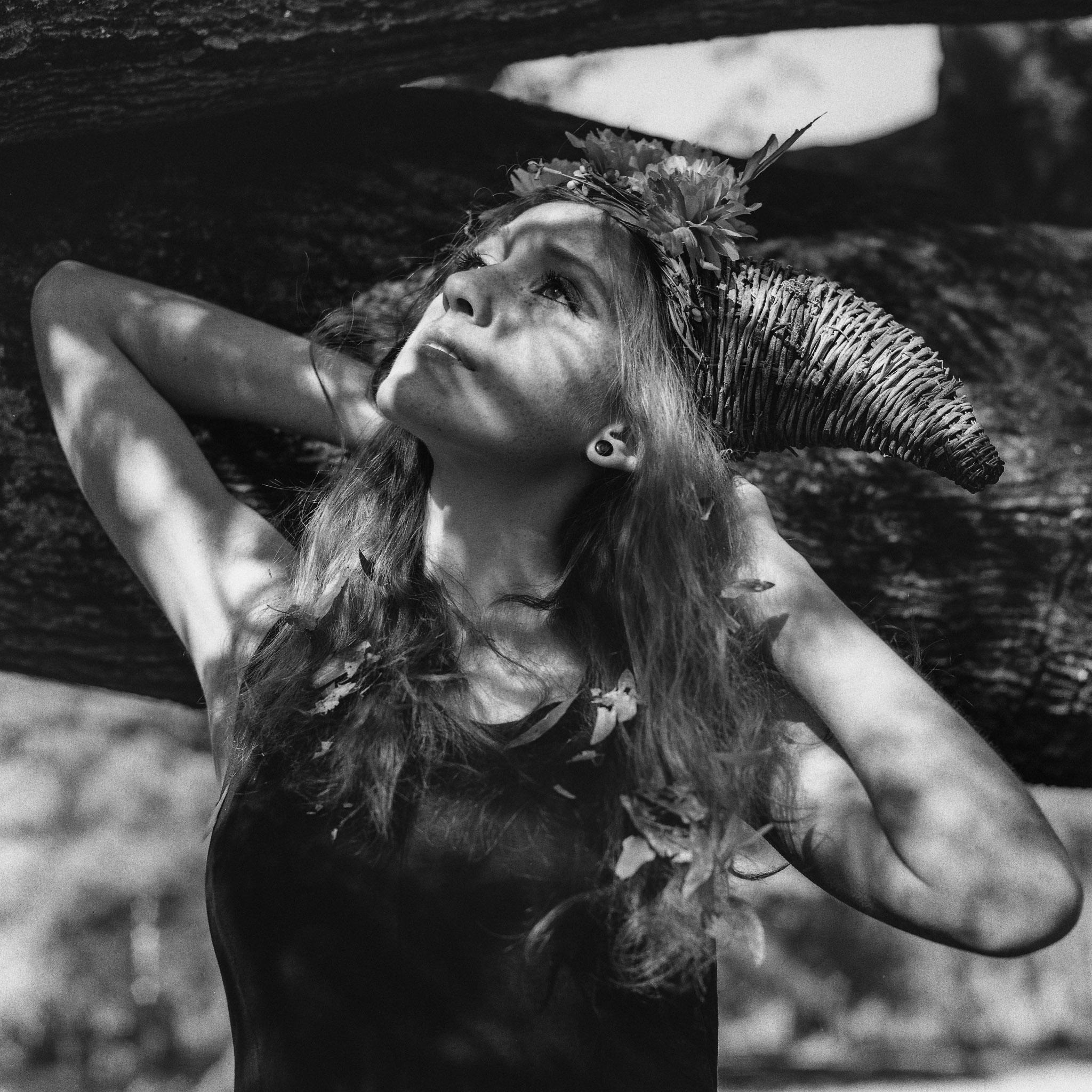 Model: Meagan Hamilton  Camera: Hasselblad 501CM  Film: HP5+