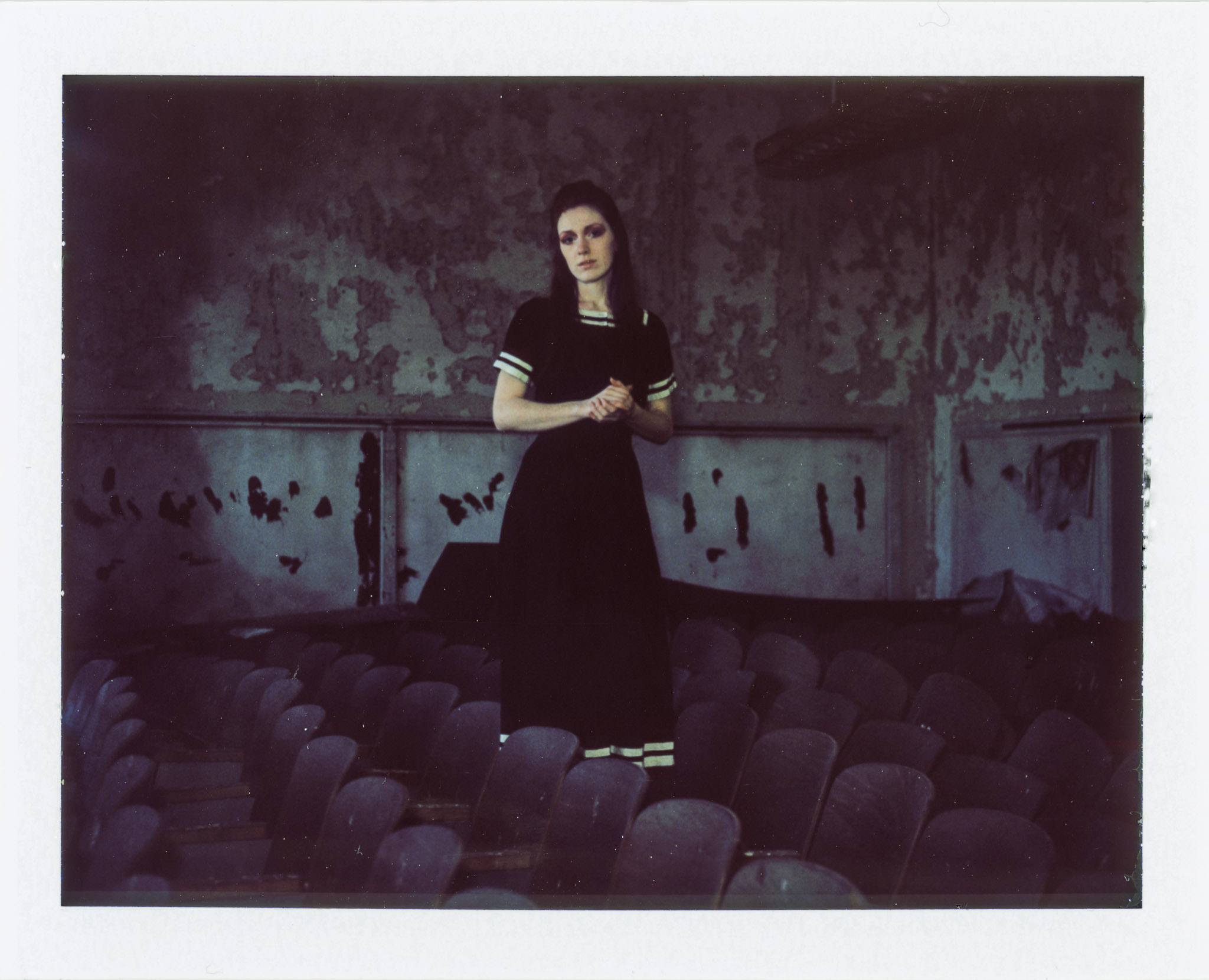 Model: Meagan Hamilton      Camera: Polaroid Land Camera 450 Modified   Lens: Ektar 127mm   Film: FujifilmFP-100c