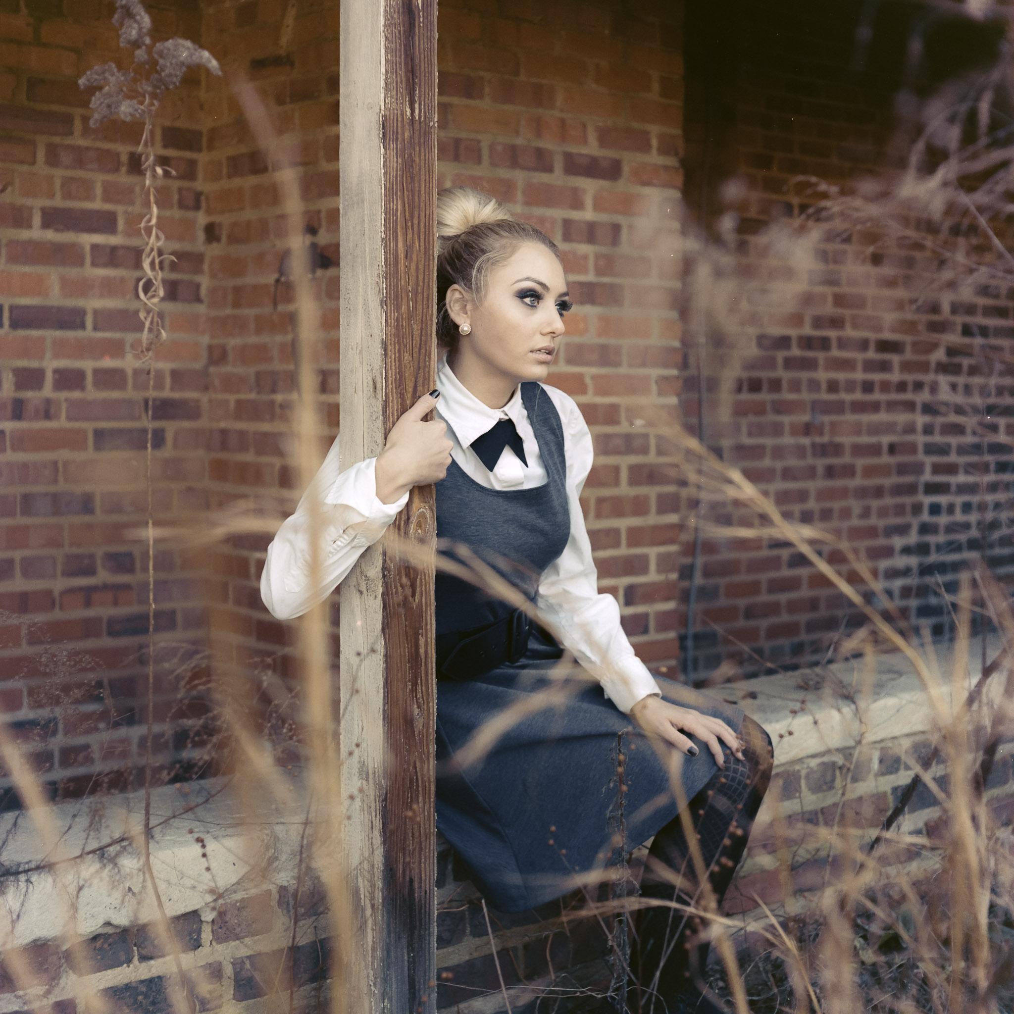 Model: Morgan Rice  Camera: Hasselblad 501cm  Film: Portra 400