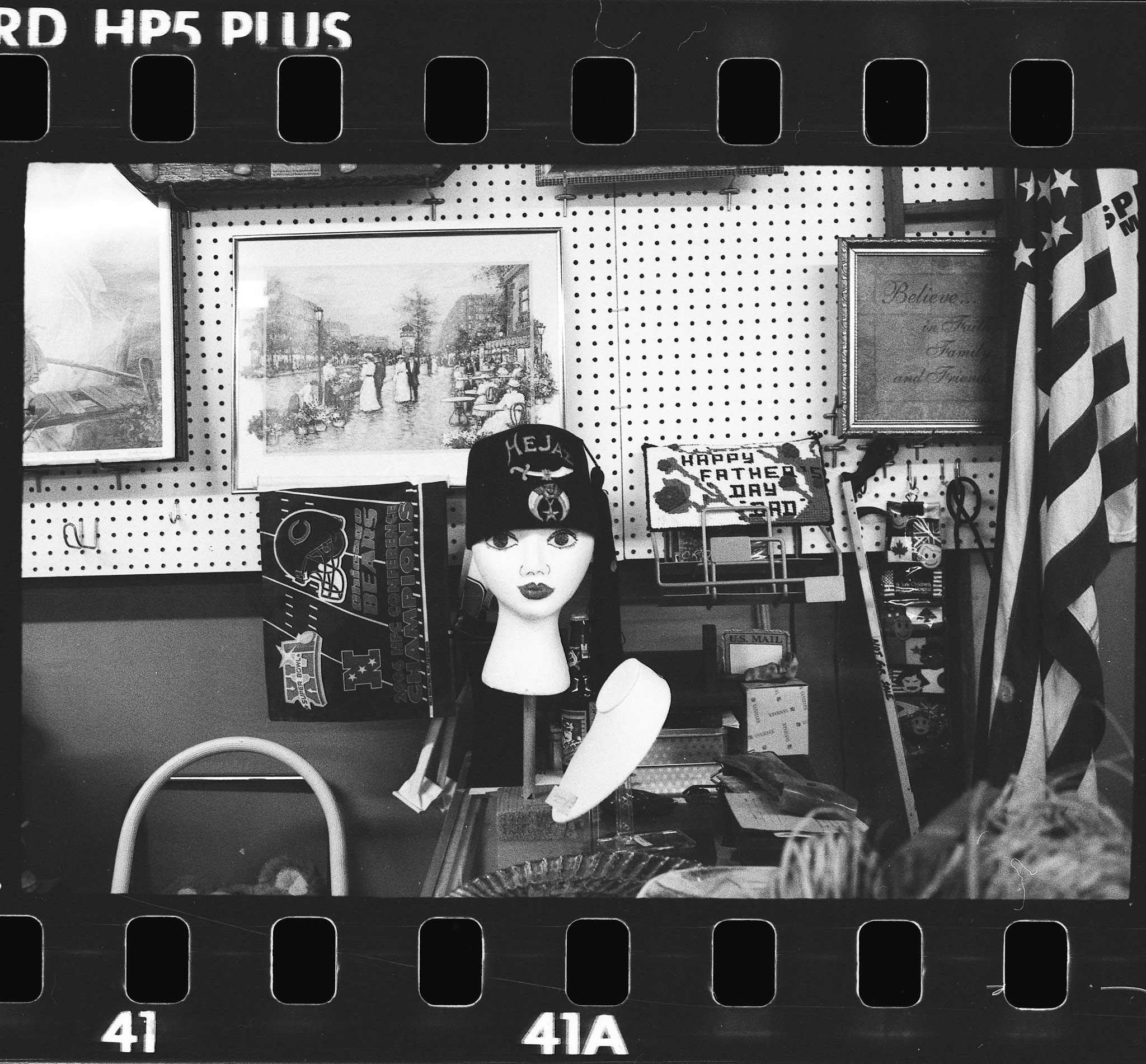 Camera:Canon QL17  Film: HP5+ rated at 1600