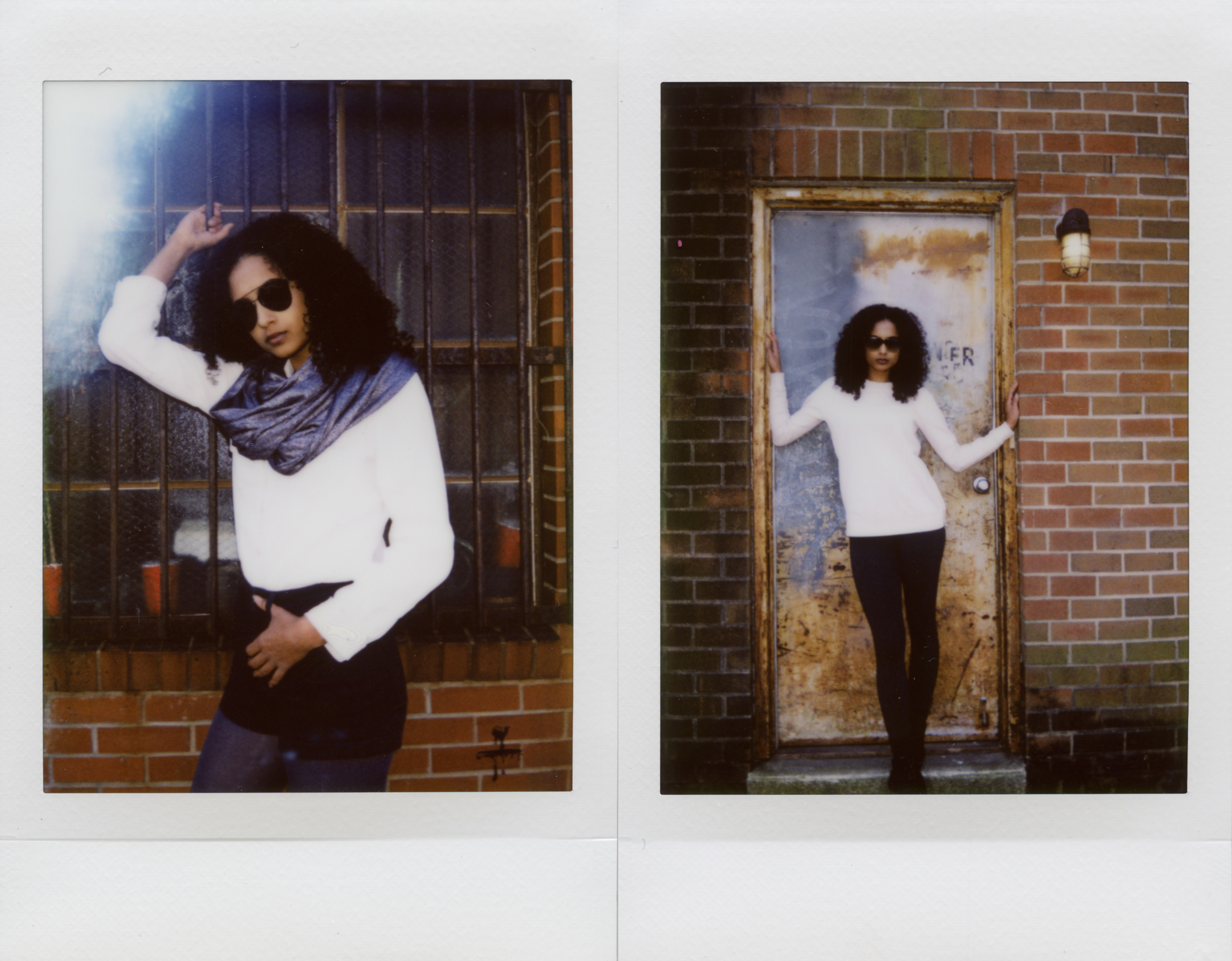 Model: Hannah Roller  Camera: Fujifilm Instax Mini 8  Film:Fujifilm Instax Mini