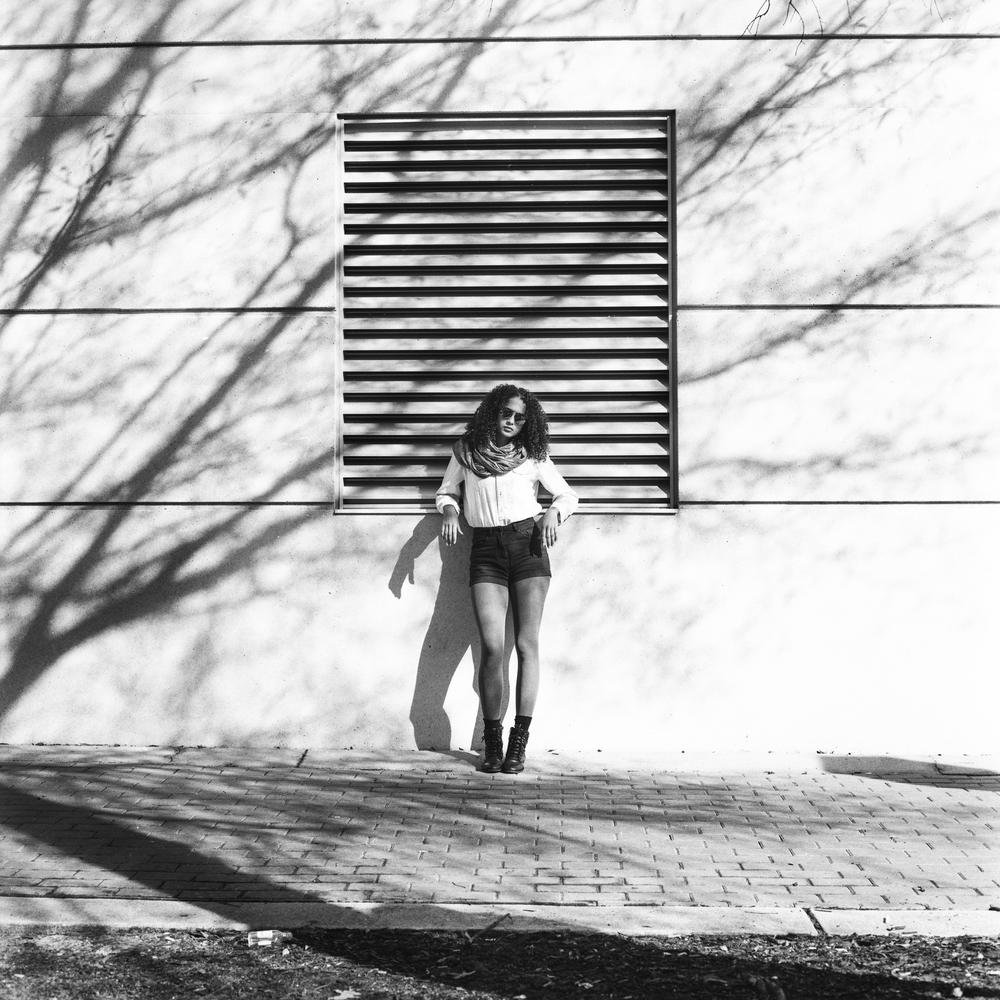 MODEL SHOOT: DOWNTOWN (HANNAH ROLLER) — Darkroom Portraits