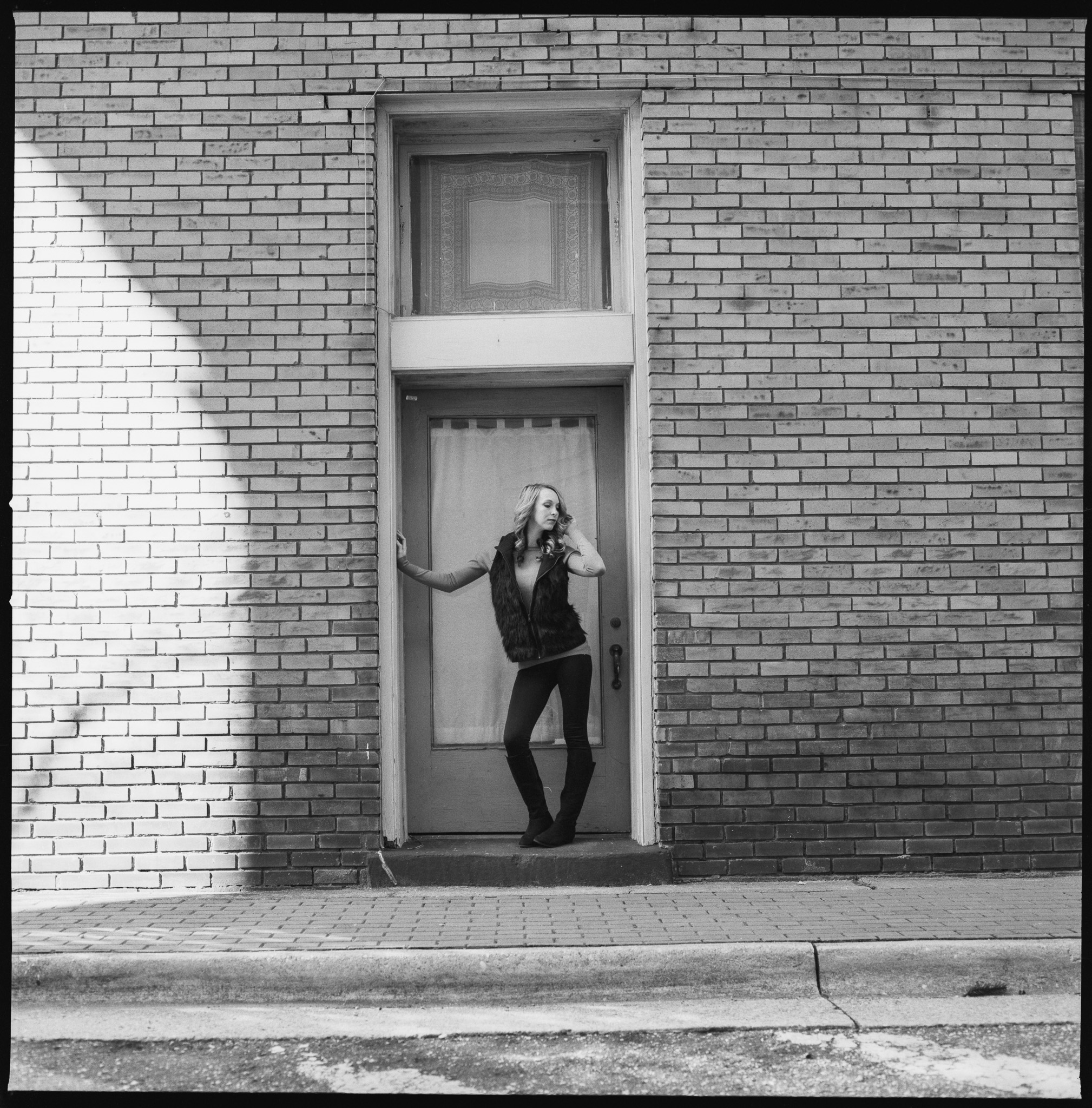 Model: Nicolette Grenier  Cameras used: Hasselblad 501CM  Film: Hp5+ 120 medium format