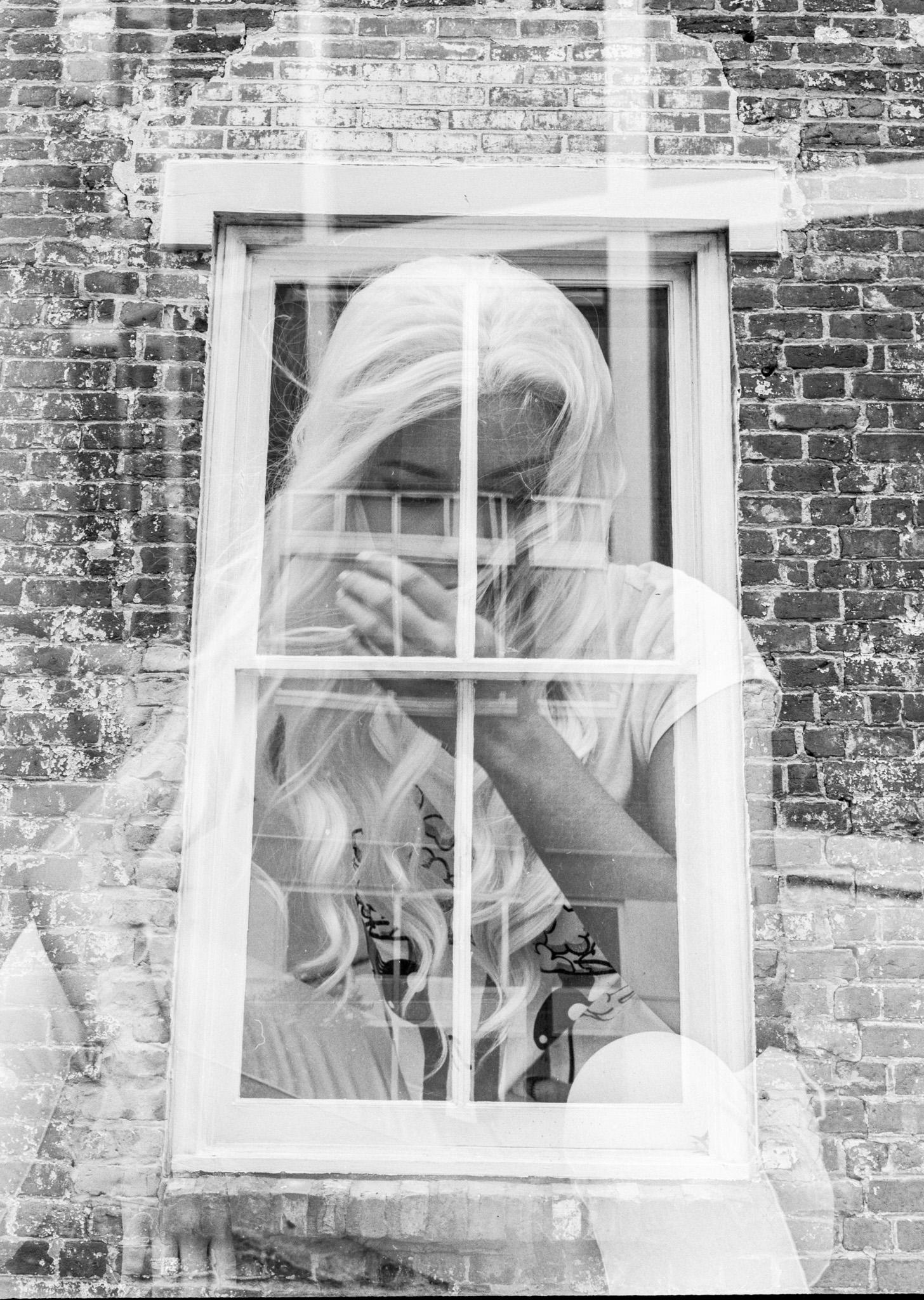 Photographer: Darkroom Portraits  Camera and Film: Mamiya645af and Hp5+  Model:Adoette  © 2016 Darkroom Portraits