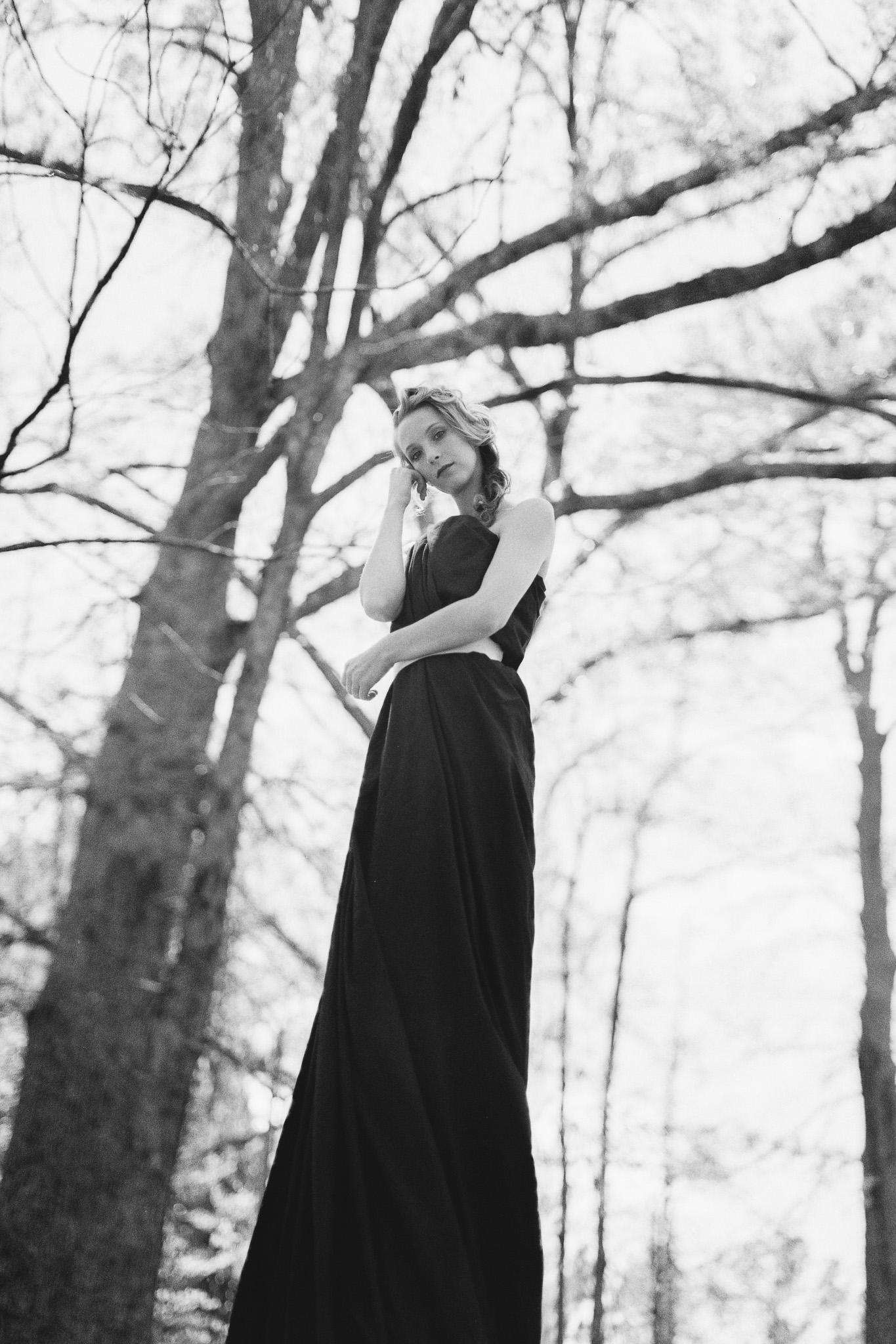 Model: Nicolette Grenier  MUA:Crystal AnnJae Styles  Cameras used: Mamiya 645AFD  Film:Hp5+ 120 medium format