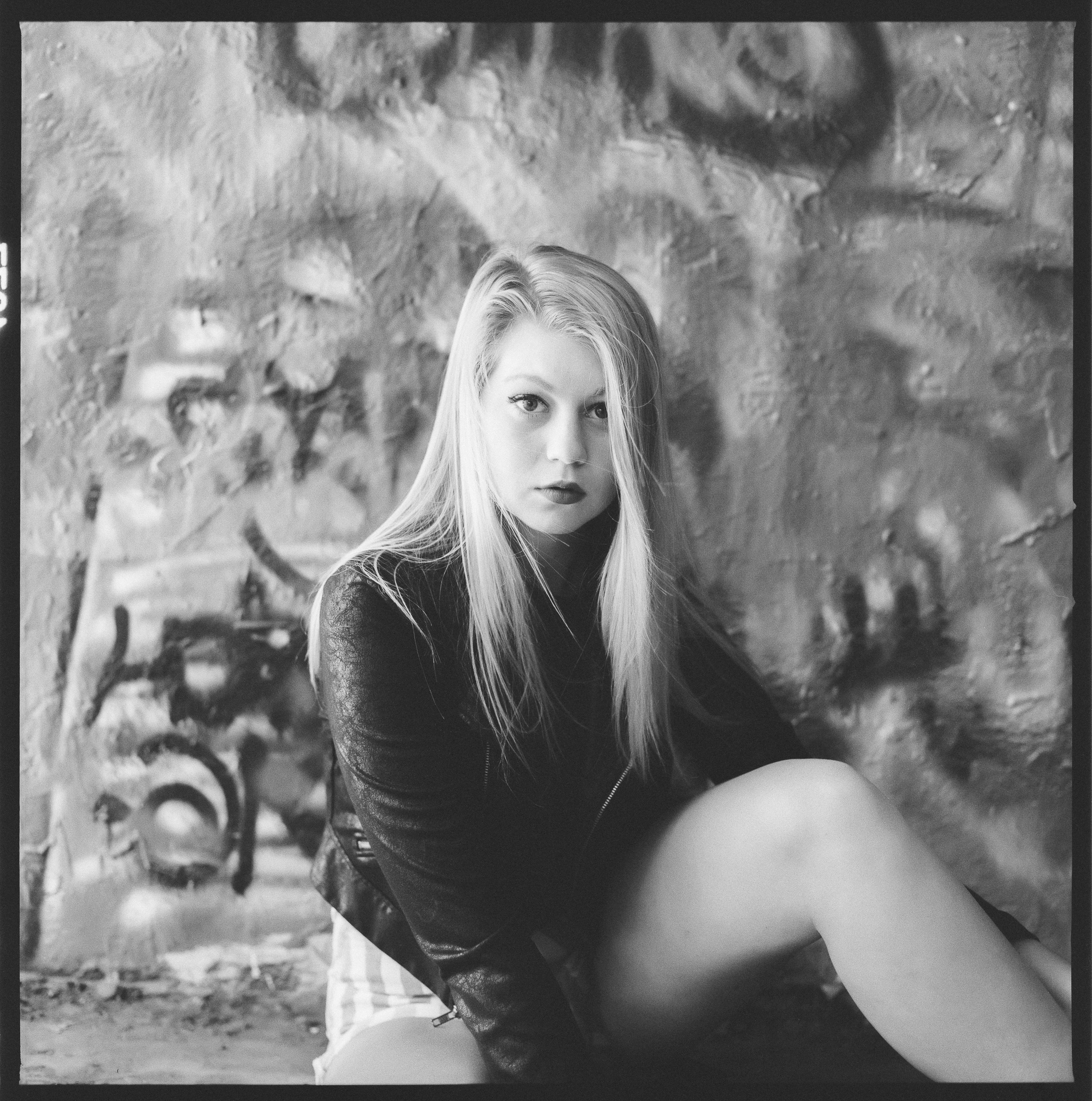 Model: Becca Olsen  Camera: Hasselblad 501CM  Film: HP5+