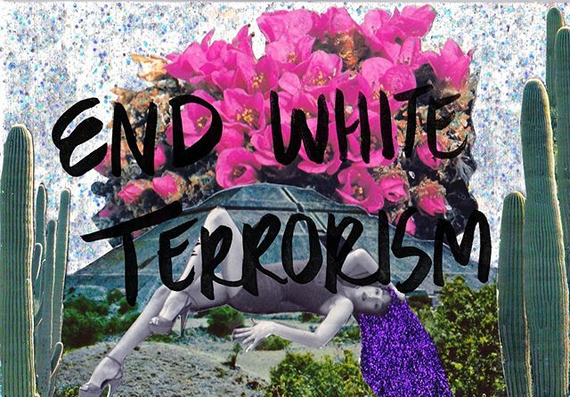 Sadly white terrorism has happened again and now at an even larger scale. please donate to the  community and affected  families in El Paso. Link in bio. I'll be sending out screenprints of 'my body is a sacrifice' to anyone who donates $20 or more to El Paso Victims Relief Fund. Just screenshot me a copy of receipt and your address. Thanks to  @casa_lambe_culo for the idea for how to help. They are also doing a print giveaway to those who donate.