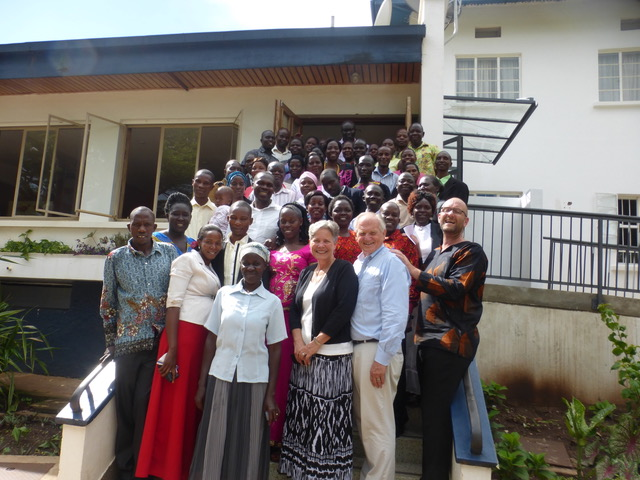 The pastor's training conference organized by Robby Keen (the Brit standing next to Paul) was a huge success.