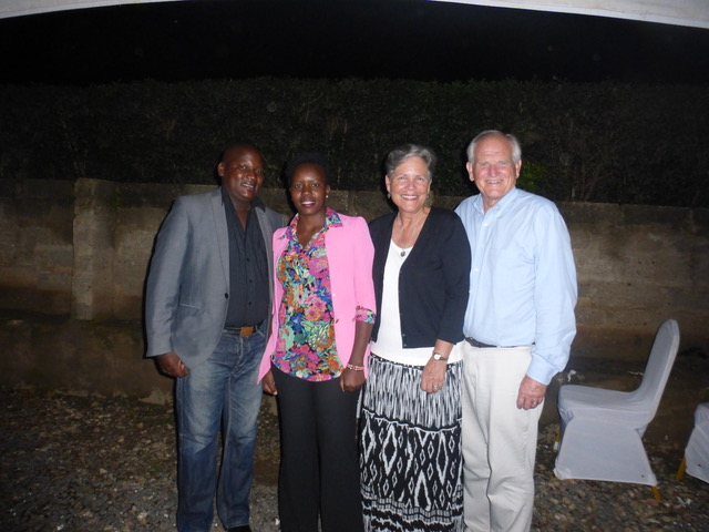 Mackay and Doreen are providing leadership for P'moja. Such great people with very big hearts and a lot of vision.