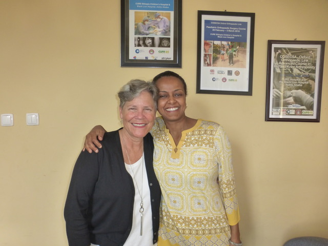 Adey Abate is the Executive Director of CURE Ethiopia and is doing an excellent job.