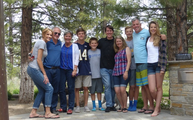 Two great families who bring great encouragement to us.