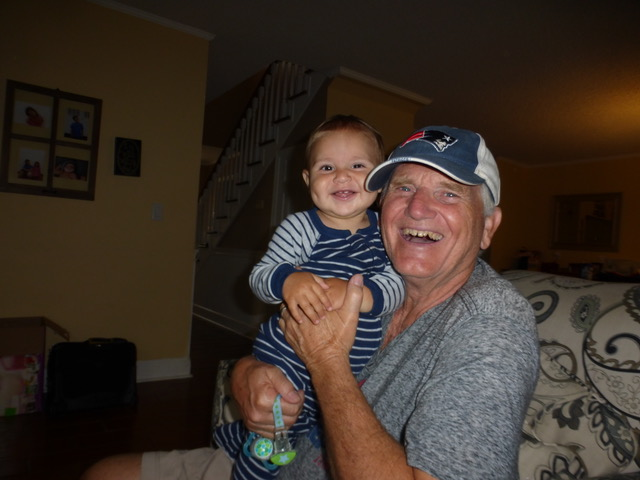 """Micah and Papa were best buds, affirming Paul's well-deserved label as the """"Kid Magnet."""""""
