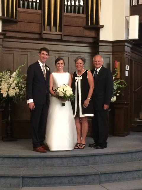 Dr. and Mrs. Reese and Stephanie Feist - beautiful in every way.