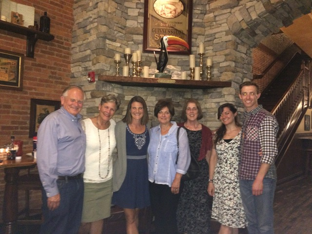 """After seeing """"Jonah"""" at the Sight and Sound Theater in Lancaster, we had dinner with Phil and Danielle, and Betty Ann and Barbara (who were the focus of this great adventure as we celebrated their 60th birthdays belatedly). Fun was really had by all."""