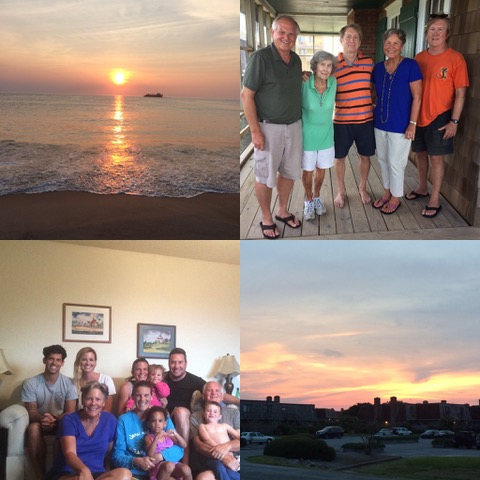 """A few special-people moments worked their way into the week… We celebrated my second cousin """"Sis"""" on her 90th birthday, and had a great time with Phil, Christi, and Zoey Herbst who drove up to spend a day with us. Zoey and Nathan became BFF's very quickly."""