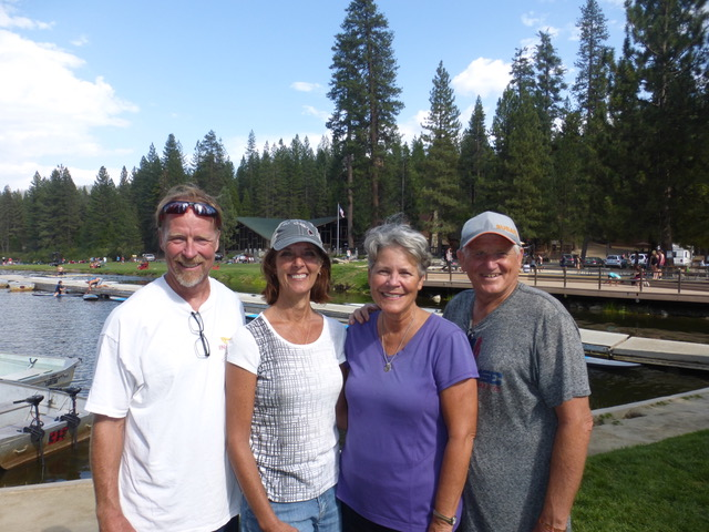 "LOVED ""bumping"" into Dave and Kathy Heinz at Hume Lake.  We were so thankful to get our family camp hugs in without family camp."