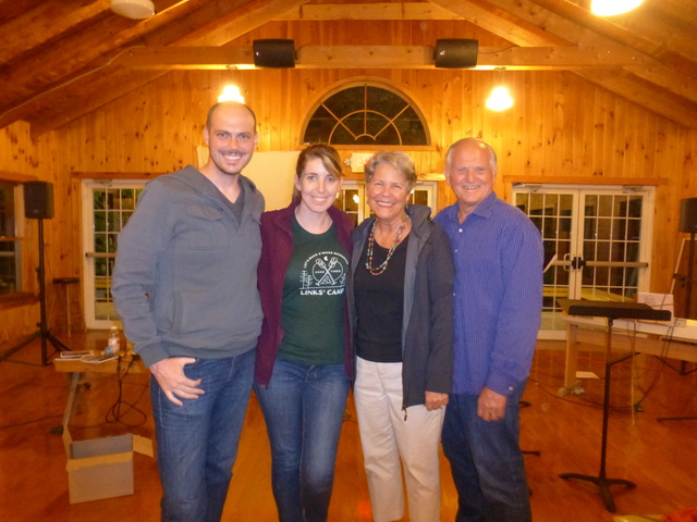 Nate and Katie Fennel are some of the friends we enjoyed reconnecting with during the Park Street Church Family Camp.