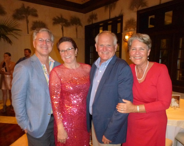 Doug and Julie Macrae celebrated their 20th anniversary in style.