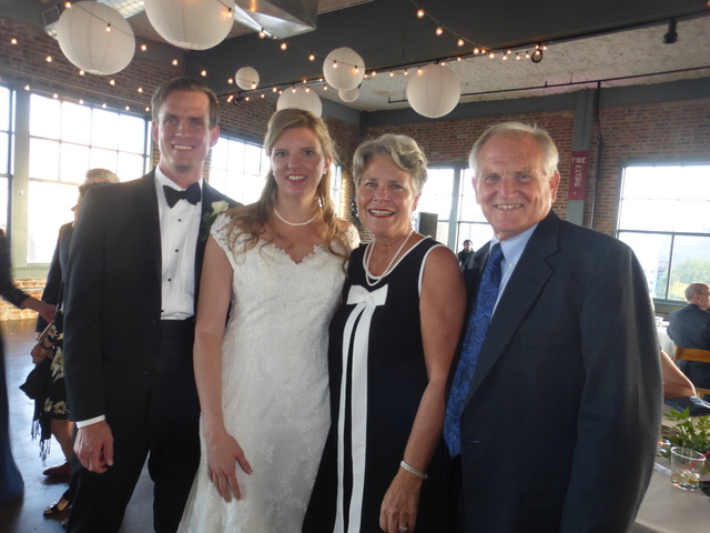 So happy to celebrate with Ian and Elizabeth Larson.
