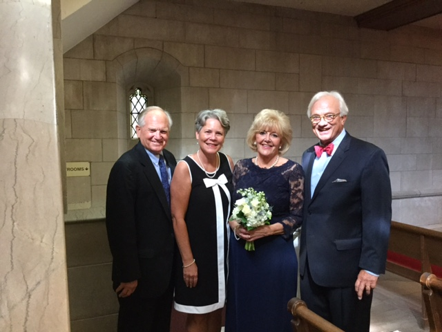 Dick and Becky Molenhouse are treasured, lifelong friends and it was such a delight to be with them at daughter Elizabeth's wedding.