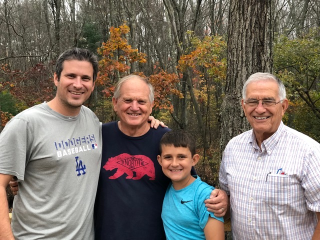 Our nephew Randy with his son Ryder and his dad (and our brother-in-law) Wayne Clark came for a (too) brief visit.